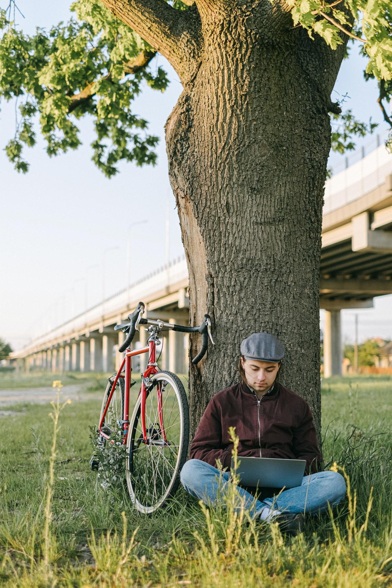 Lige hvad du har brug for efter en cykeltur ud i det blå