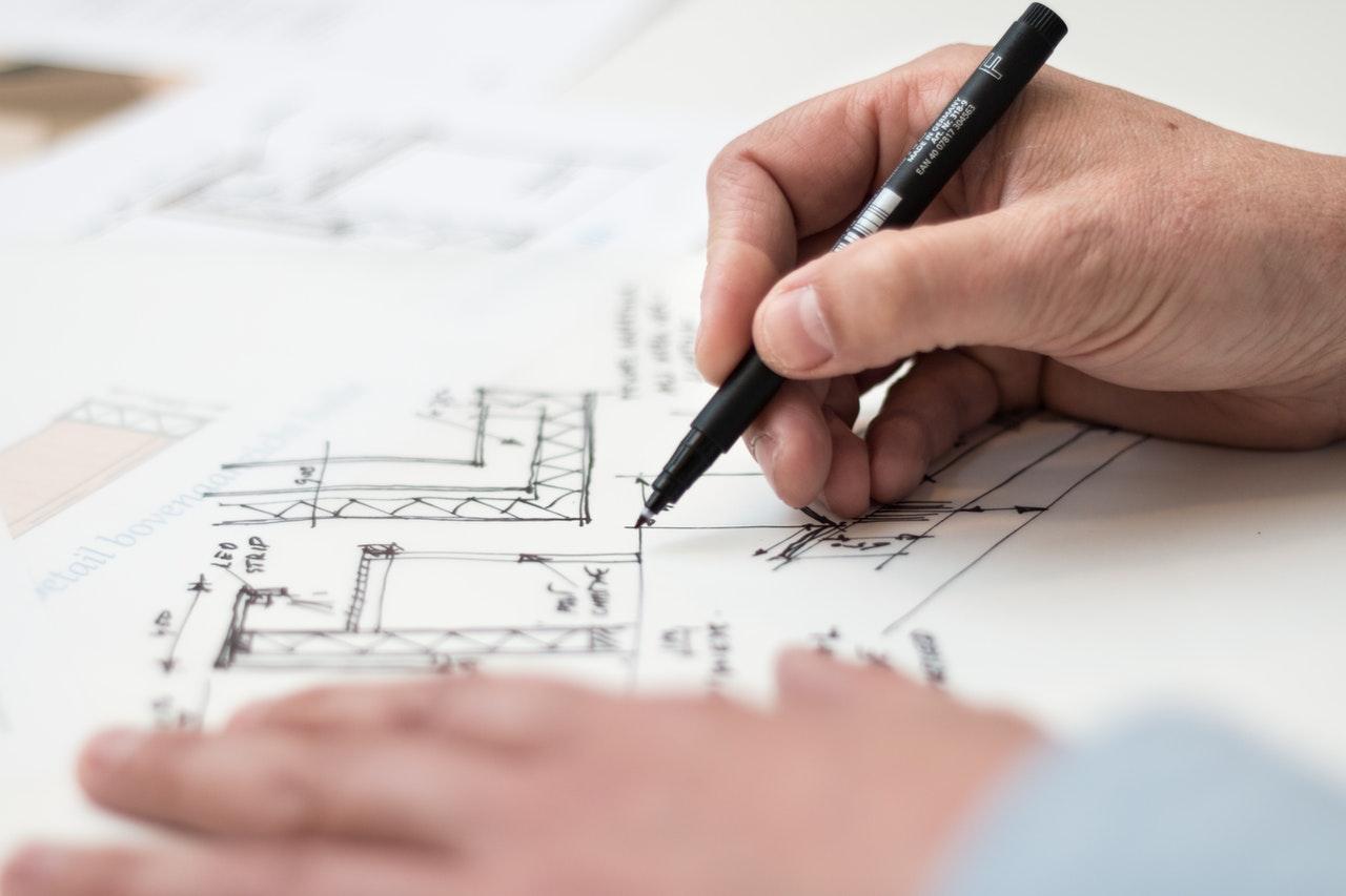 Husk faldsikring under byggeri